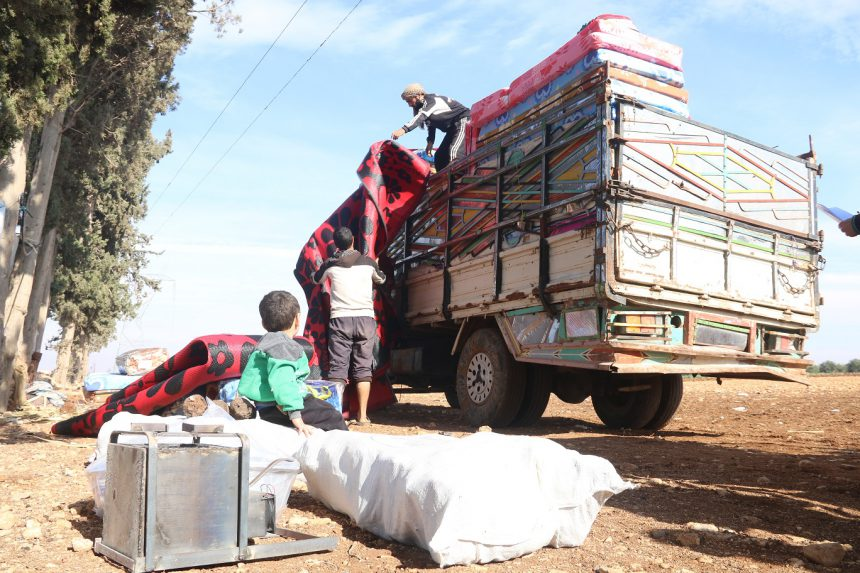 Emissa continues NFI distribution in rural Homs