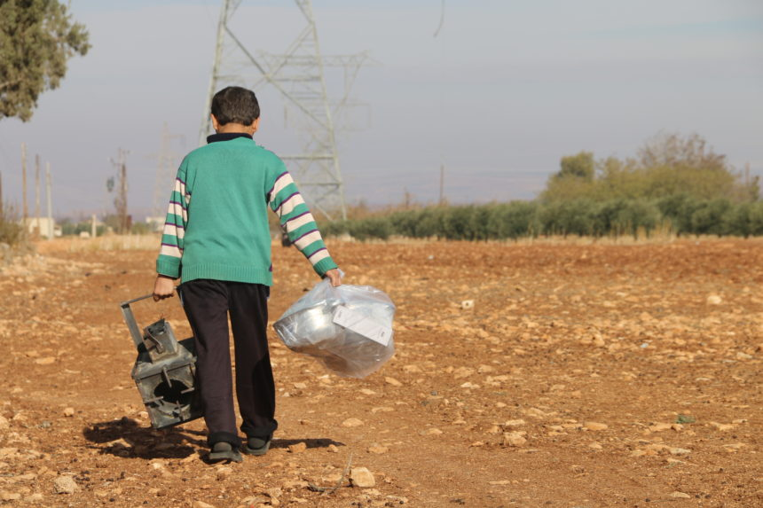 Support winterization for vulnerable Syrian families in besieged areas